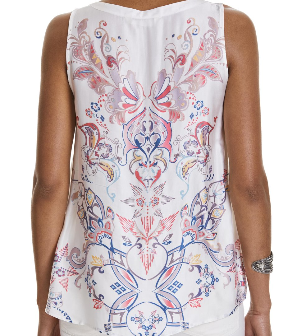 love affair sleeveless blouse