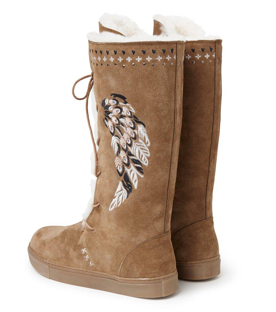 Suedey High Boot