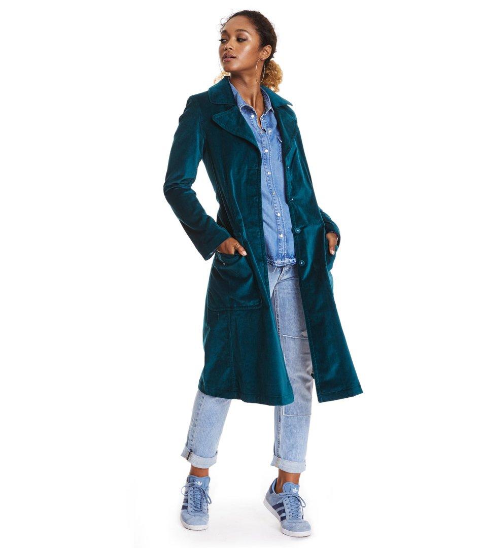 Wild Velvet Coat