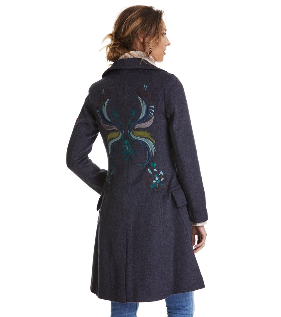 Wild Embroidered Coat